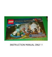 LEGO 4192 - Pirates Of the Caribbean Fountain of Youth - INSTRUCTION MANUAL ONLY