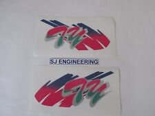 Yamaha TY 250 TY250 R S Mono Pinky Tank Decals Graphics Stickers UK MADE SJ014