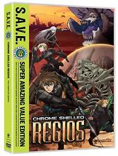 Chrome Shelled Regios: The Complete Series S.A.V.E. Dvd Sci-Fi other World Anime