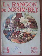 """LES CAHIERS D'ULYSSE n° 22 """"La rançon de Nissim-Bey"""""""