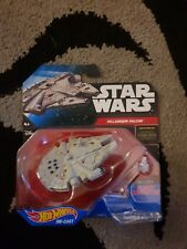 Hot Wheels Star Wars Force Awakens Millennium Falcon Hotwheels Carded