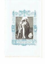 1852 Grabado, San Faustino y Jovita Hermanos y Martires