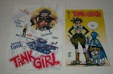 1995 TANK GIRL PROMO PRESS KIT FOLDER w DARK HORSE COMIC BOOK LORI PETTY