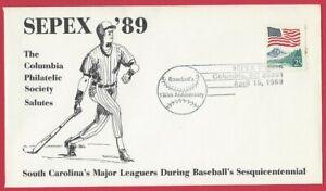 South Carolina salutes Major Leaguers during Baseball 150th anniversary Apr 1,89