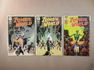 ZOMBIE WORLD #1-3 MIKE MIGNOLA PAT MCEOWN Champion of the Worms Dark Horse 1997