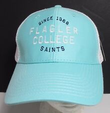 Flagler College Hat Cap Trucker Snapback Saints Florida USA Embroidery New #tuq