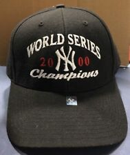 New York Yankees Black World Series 2000 Hat Game Fitted 1 Size MLB Holo NWT 58f2e23795a7