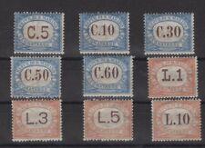 SAN MARINO, STAMPS, 1925, Sassone. 19-27 **.