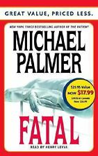 FATAL By Michael Palmer (2004, Cassette, Abridged)  (2410)