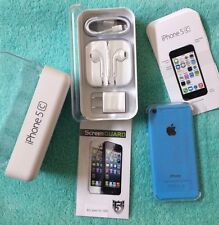 Brand New Apple iPhone 5C 16GB Blue AT&T H20 Red Pocket Net10 Clean IMEI *GIFT*