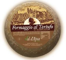 FORMAGGIO AL TARTUFO STAGIONATO FORMA INTERA Kg.1,300 SUBLIME