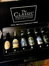 More details for very rare guinness the classic collection 6 bottle designs 1995