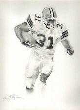 "Cleveland Brown William Green #31 ""GloryBound"" NFL Art by Stangarone Free S&H"