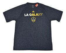 adidas MLS Mens Los Angeles Galaxy Soccer Speckled Heather Shirt NWT L