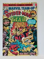 Marvel Comics Team-Up Spider-Man & Sons of the Tiger #40 Dec. 1975 Comic Book