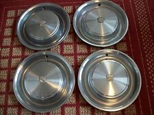 """1973 Cadillac    Set of Four 15"""" OEM Hubcaps"""