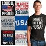 American Tee Shirt US T-Shirt For Men 4th of July Tees Shirts Gift Mens Tshirt T