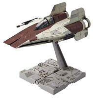 BANDAI 1/72 A-WING STARFIGHTER Plastic Model Kit Star Wars Episode 6 NEW Japan