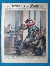 La Domenica del Corriere 27 marzo 1949 M.Cyliakus - Hollywood - De Gasperi