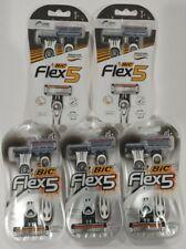 (10) Bic Flex5 Disposable Shave Shaving Men's (5 x 2 Razors) Balancing Sphere