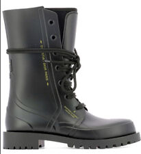 Christian Dior Camp Rubber Boots Shoes - brand new - RRP$1,400 39 Black