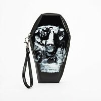 Rock Rebel Universal Monsters Glitter Coffin Clutch Wallet UM-WAL80-GLIT-COLLAGE