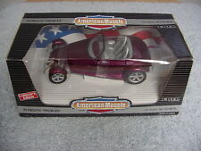 ERTL 1/18 AMERICAN MUSCLE PLYMOUTH PROWLER CANDY MAGENTA CE CAR