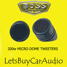 BOSS Audio TW17 200W voiture dôme tweeters micro surface