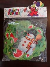 Party Favors Merry Christmas Letter Jointed Banner Wall Hanging NEW - 7.5 FEET