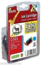 3 x Canon CLI-521 compatibile Inkrite INCHIOSTRO cisterne (1x CMY)
