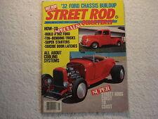 Hot Rod's Street Rod Quarterly Vol 1 #1 spring 1984 the VERY BEST