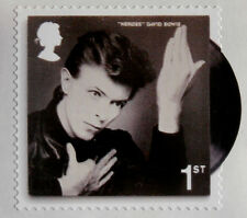 DAVID BOWIE, Individual ROYAL MAIL First Class postage stamp - MINT