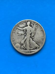 1921D Walking Liberty Half Dollar - Key Date - Look @ Pictures