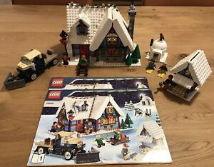 Retired LEGO Creator Winter Village Cottage 10229 Complete With Instructions