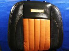 2002-2005 Dodge Ram Driver Daytona Leather Back Rest Racing Seat Backrest Cover