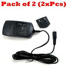 2x Blackberry 0.5A Micro USB Home Travel Wall Charger For Z10 Z30 Z3 Q20 Q10 Q5