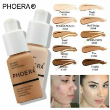 PHOERA® Foundation Concealer Full Coverage Makeup Matte Brighten long lasting A+