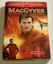 MacGyver - The Complete Fourth Season (Dvd, 2005, 5-Disc Set) - New -