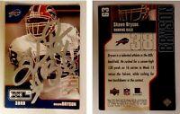 Shawn Bryson Signed 2002 Upper Deck XL #63 Card Buffalo Bills Auto Autograph