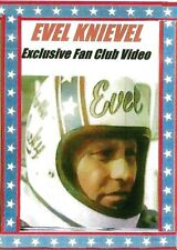 Evel Knievel RARE Fan Club dvd >FREE SHIPPING to USA ONLY