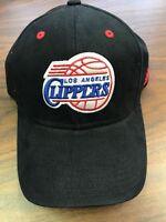 NBA BLACK Adidas Los Angeles Clippers Adjustable Cap