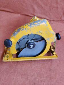 "Ingersoll Rand IR S120 Pneumatic 12"" Circular Saw Pneumatic Air Saw Lightly used"