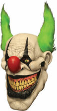 Morris Costumes Halloween Latex Zippo The Horror Clown Mask One Size. TB26499
