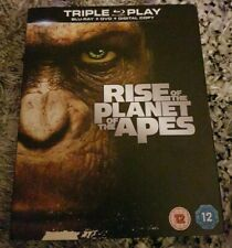 Rise Of The Planet Of The apes Blu Ray
