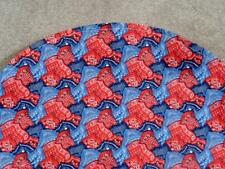 BASSINET SHEET / COTTON FABRIC - RED AND BLUE KERCHIEF PRINT