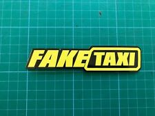 FAKE TAXI X2 STICKER  funny Ratlook hoodride car sticker Bombing Decal VW JDM