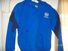 Outer Banks Crew Yacht Men's Royal Blue Jacket Cadillac & Emblem W/Hood Size M