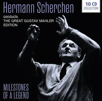 HERMANN SCHERCHEN CONDUCTS MAHLER - MILESTONES OF A LEGEND  10 CD NEU