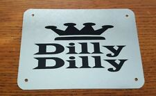 Funny  Dilly Dilly Beer Sign Metal  Man Cave Bar Hot Tub Party