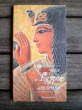 LIVRE  * L'ABCdaire DE L'ÉGYPTE ANCIENNE * Ed. FLAMMARION !!